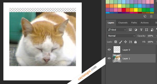 Hướng dẫn tạo ảnh chụp lấy liền trong Photoshop