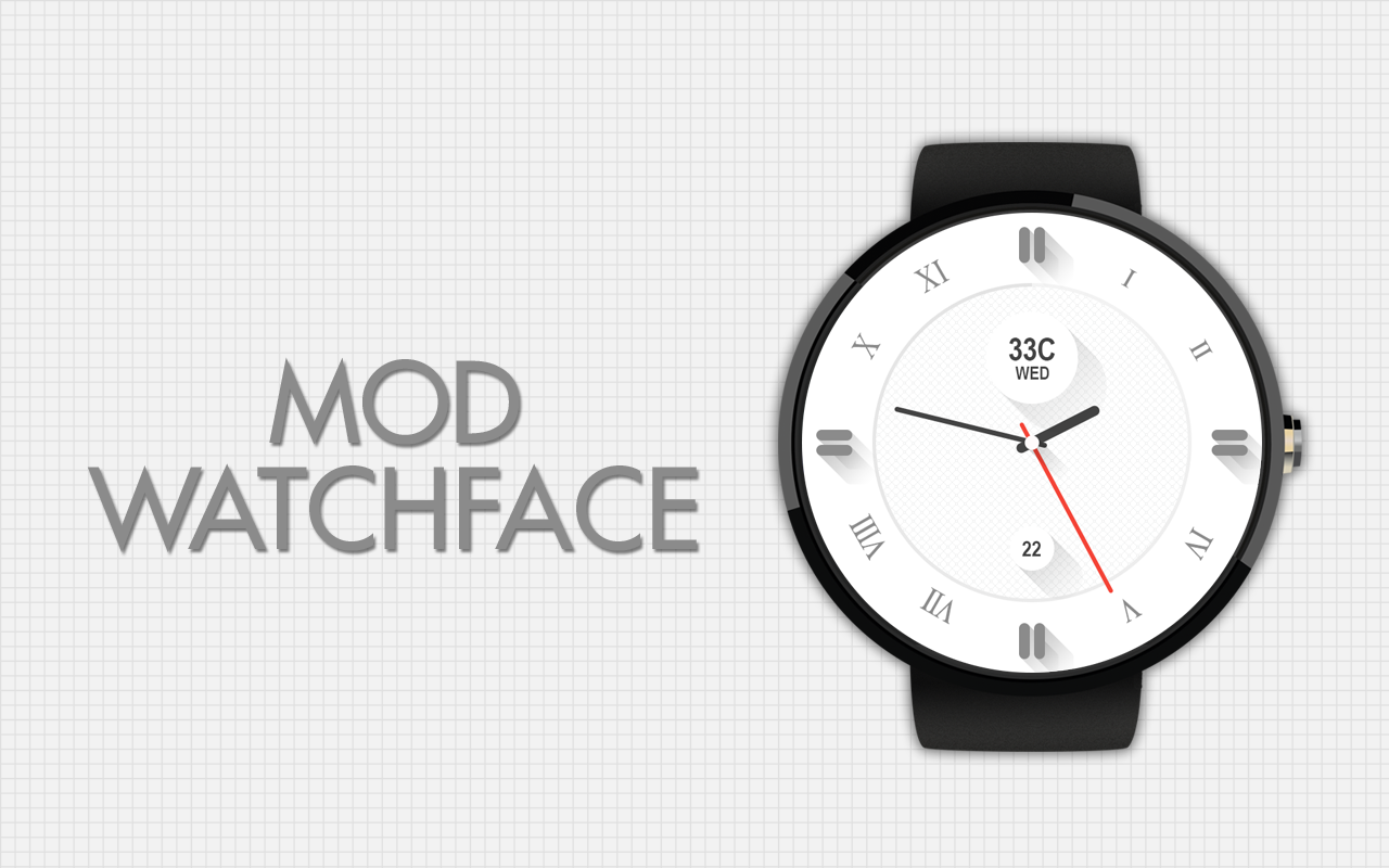 Mod Pro Watch Face- screenshot