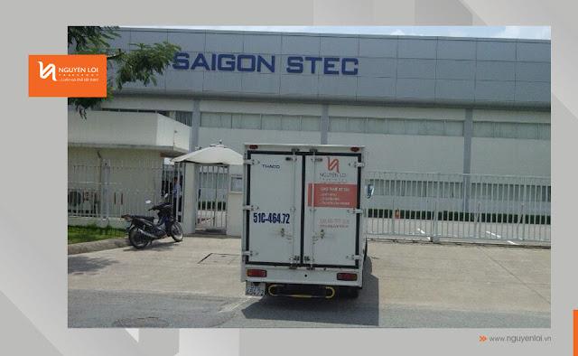 Nhật ký chở hàng SaiGon Stec