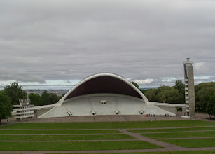 Photo: The next day we started our tour of Tallin, the capital of Estonia.  The Estonia Song Festivals are held here every five years.  The stage can hold up to 15,000 singers.