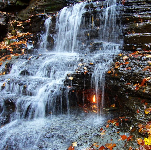 Eternal Flame Falls in New York | Amusing Planet