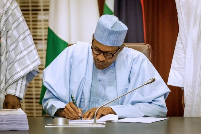 BREAKING: Buhari Writes Senate, Seeks Approval To Pay Kogi N10.07Bn