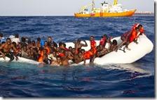 200 mila migranti in Italia nel 2017
