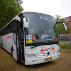 Mercedes Tourismo van Schmitz bus 60