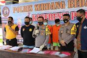 Diduga Lakukan Pemerasan, 2 Anggota F.SP-TSI - K.SPSI Diciduk Polres Sergai