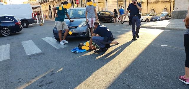 Reggio Calabria,  signora investita sulle strisce pedonali da un'automobile nei pressi del museo.
