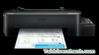 tải và cấu hình phần mềm phần mềm driver máy in Epson L120