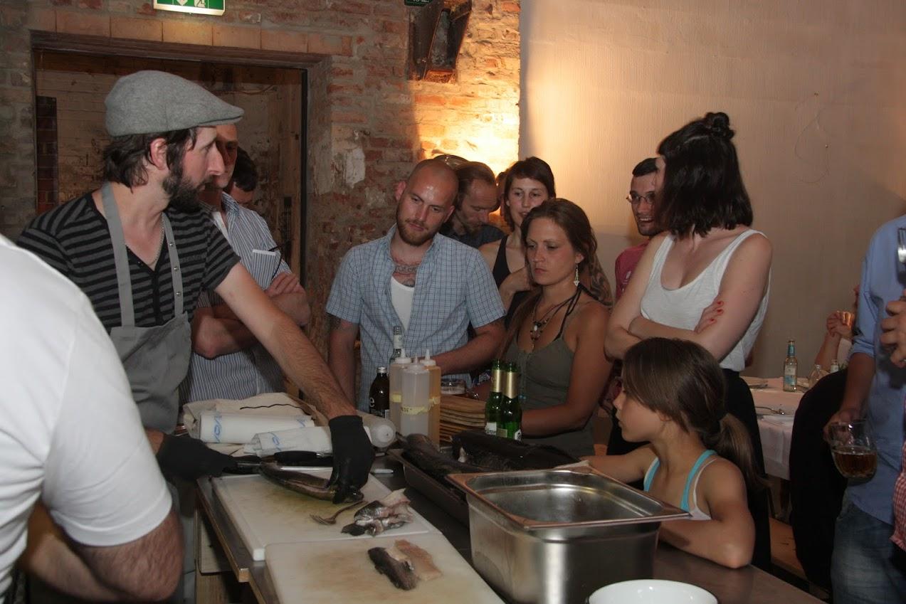 Michael Wickert (Markthalle Neun, Berlin) gibt Tipps zum Thema Fisch bei