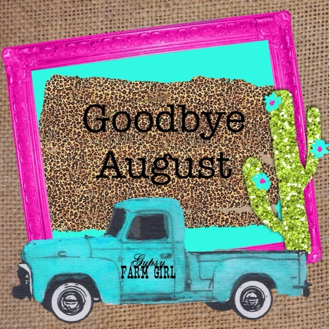 graphic for last day of August
