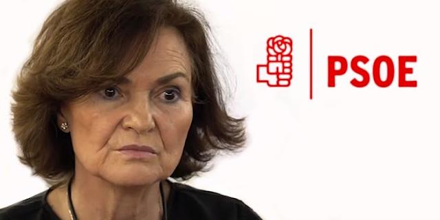 Carmen Calvo. PSOE