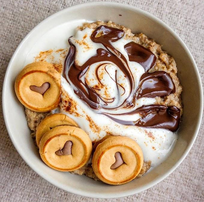 Chocolate Cookie Oatmeal Recipe |Breakfast Care