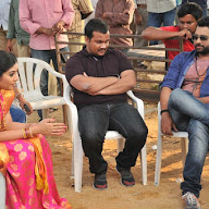 Savithri Working Stills