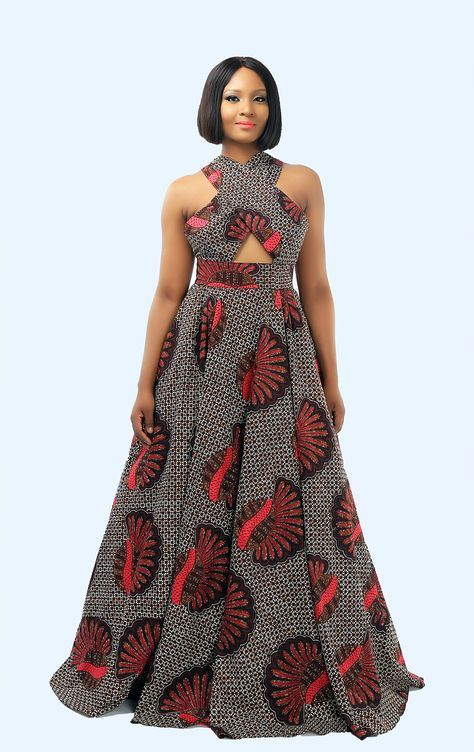 Top Traditional African Print Dresses Designs 2019 3