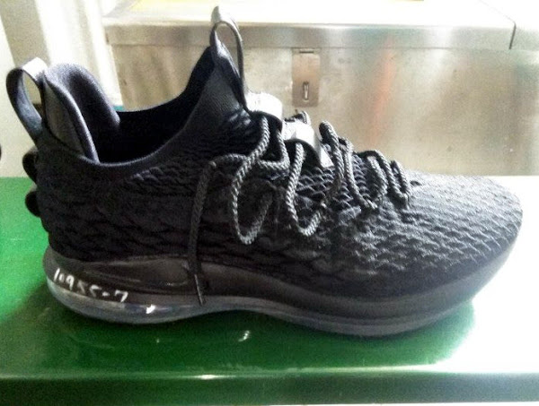 First Look at Nike LeBron XV 15 Low in All Black
