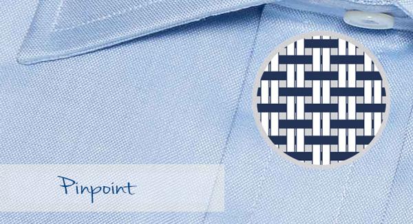 Camisa de hombre en tela Oxford Pinpoint