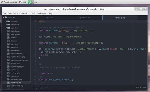 Install Atom Text Editor On CentOS 7