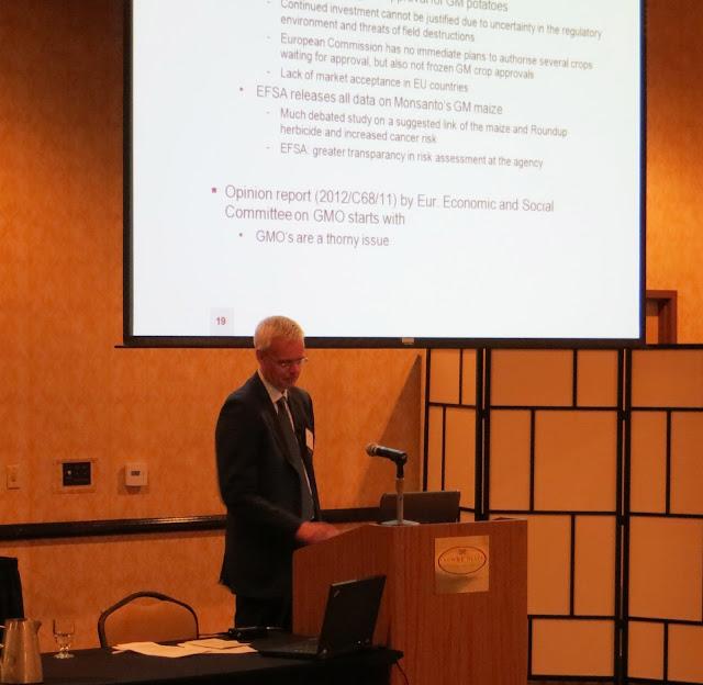 Peter Van der Schaft, Technical Director, Axxence Aromatics GmbH.