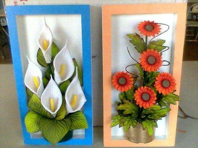 M s y m s manualidades crea un bello cuadro decorativo for Plantas decorativas artificiales df