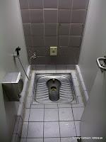 Toalett på flygplatsen...