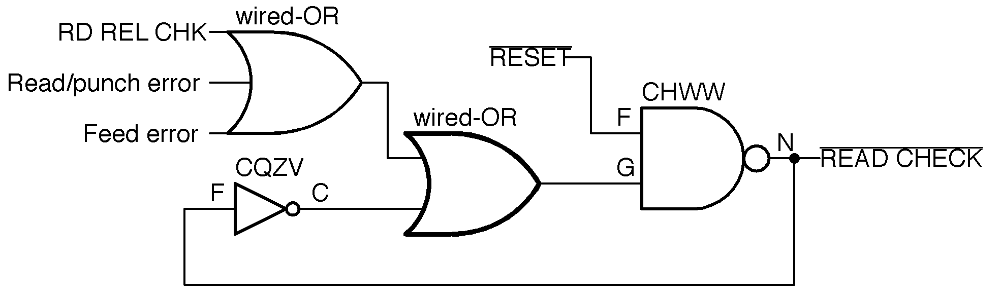 Ken Shirriffs Blog 2018 Latching Circuit Diagram The Read Check Latch Redrawn With Modern Symbols