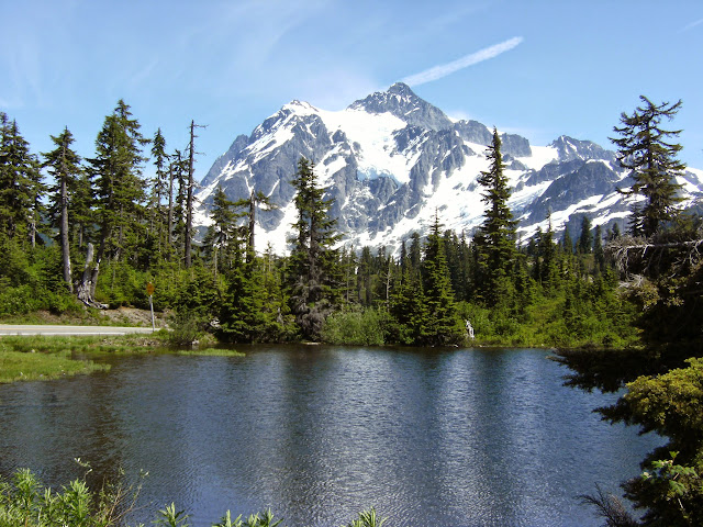 Mt. Shuksan and Picture Lake / Credit: Craig Oppie