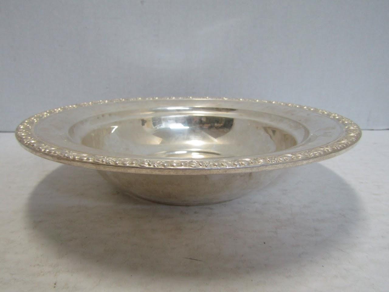 Black, Starr-Gorham Sterling Silver Bowl