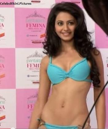 Rakul preet hot in Bikini for fashion Bikini show as a model before acting