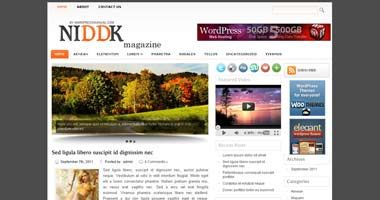 Free Wordpress Theme - NIDDK