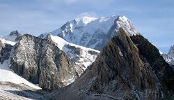 Mont-Blanc 4810m (Tour du Mont-Blanc).