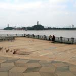 Le Oujiang et l'île Jiangxin