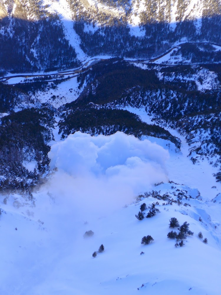 Avalanche Cerces, secteur Vallée de la Clarée, Crête de Cépé ; RD994g - Photo 1
