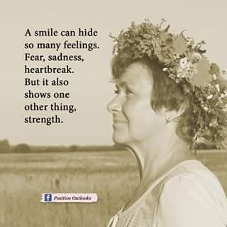 A Smile Can Hide So Many Feelings Fear Sadness Heartbreak But It