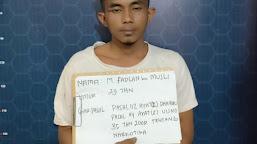 Kerap Transaksi Narkoba Di Desanya, Seorang Pemuda Ditangkap