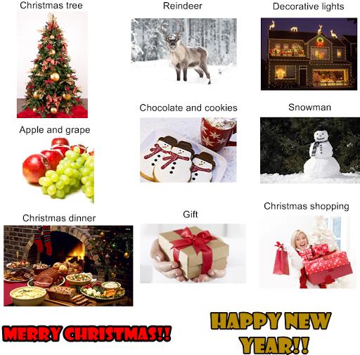 Vocabulario de navidad en ingles para ni os - Arbol de navidad en ingles ...