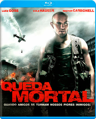 Filme Poster Queda Mortal BDRip XviD Dual Audio & RMVB Dublado