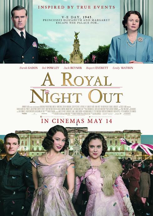 Η Πριγκίπισσα το' Σκασε (A Royal Night Out) Poster