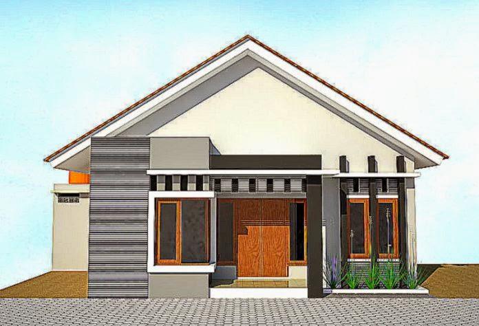 Gambar Desain Rumah Minimalis Modern 3d