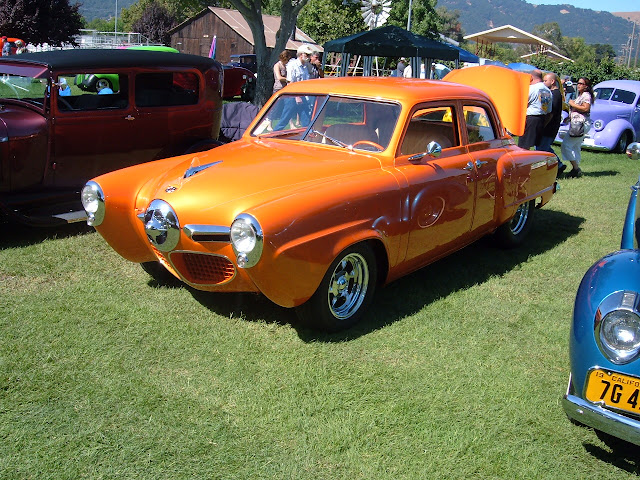 I owned this 1950 Stude Champ, Good friend Larry Dubay sold it to me , I sold it and the new owner did it up nice. Wish I had it back..