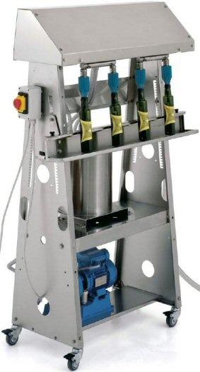 ΕΜΦΙΑΛΩΤΙΚΟ ΓΕΜΙΣΤΙΚΟ ΜΗΧΑΝΗΜΑ ΦΙΑΛΩΝ ΜΠΟΥΚΑΛΙΩΝ ΛΑΔΙΟΥ ΕΛΑΙΟΛΑΔΟΥ Γεμιστικό μηχάνημα (γεμιστική μηχανή) φιαλών (μπουκαλιών) λαδιού (ελαιολάδου) Toscana Enologica Mori