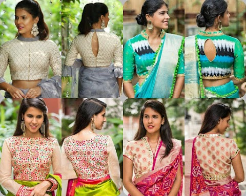 Blouse Customization Made Is With This Brand | House of Blouse.
