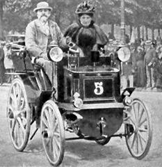 Panhard 1895 n°5 Paris-Bordeaux