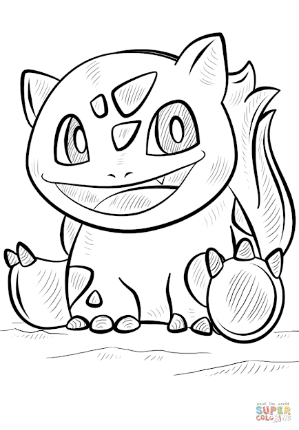Click The Bulbasaur Pokemon Coloring Pages