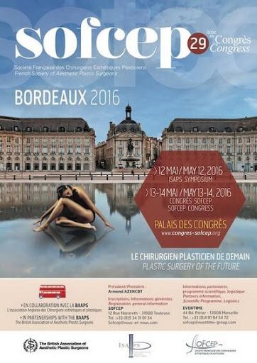 29e congrès national de la SOFCEP les 12, 13 et 14 mai au palais des congrès de Bordeaux