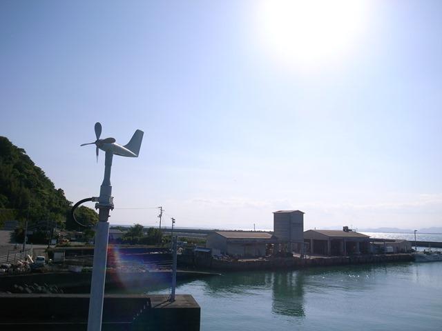 高知県夜須手結港可動橋