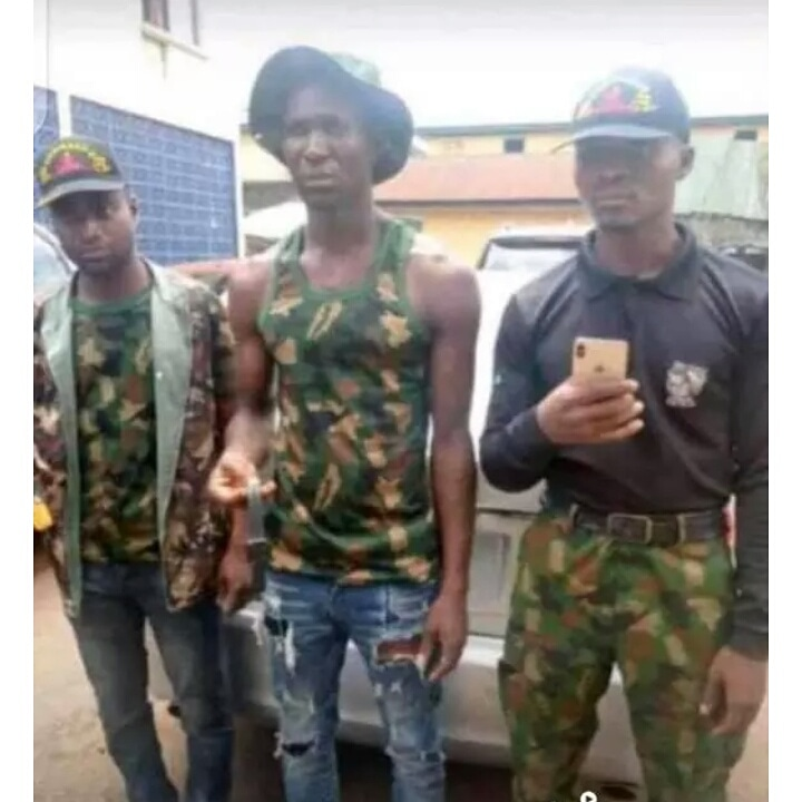 Photos of the Three Army Men That Kidnapped Leo Waya From Owerri Hotel And Murdered Him in Anambra