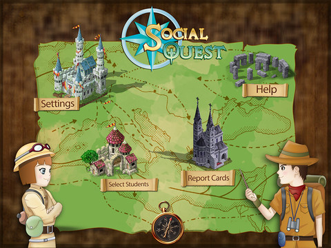 Social Quest Main Page