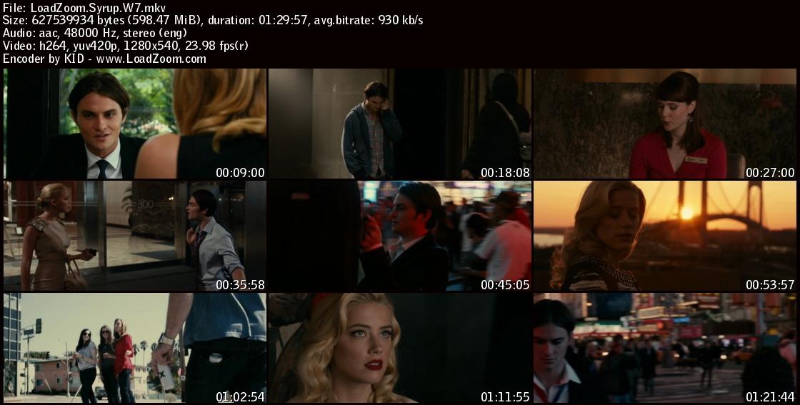 movie screenshot of Syrup fdmovie.com