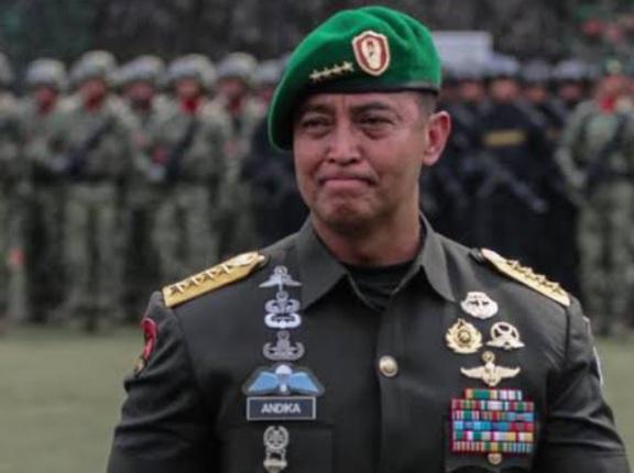 Jenderal Andika Perkasa Angkat Brigjen Junior Tumilaar Jadi Stafsus