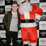 WWW.ENTSIMAGES.COM -  Nicholas McDonald    at      Fight For Life Christmas party at Hard Rock Cafe, London December 9th 2014Annual festive party hosted by cancer charity in aide of The Fight For Life charity for children with cancer.                                                  Photo Mobis Photos/OIC 0203 174 1069