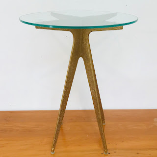 Cast Metal Accent Table